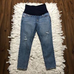 Gap Skinny Crop Maternity Jeans Size 10